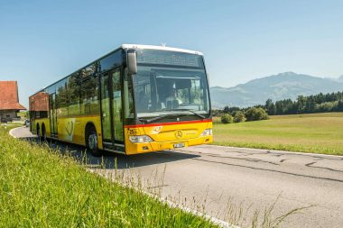 PostAuto in Udligenswil